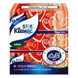 舒洁 150抽 盒装面巾纸 212*194mm(3盒/提)