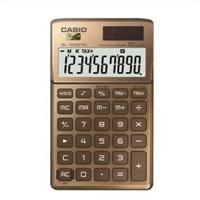卡西欧SL-1000TW-GD卡片式时尚办公计算器 金色
