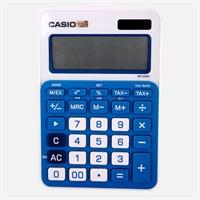 卡西欧MS-20NC-BU小型办公计算器 蓝色
