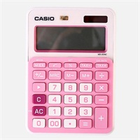 卡西欧MS-20NC-PK小型办公计算器 粉色