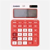 卡西欧MS-20NC-RG小型办公计算器 红色