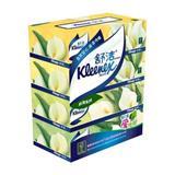 舒洁 130抽 盒装面巾纸(4盒/提)