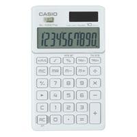 卡西欧SL-1000TW-WE卡片式时尚办公计算器 白色